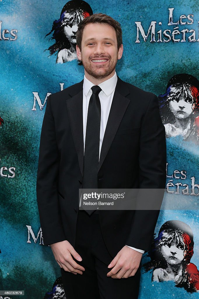 Michael Arden attends the opening night of Cameron Mackintosh's new production of Boublil and Schonberg's 'Les Miserables' on Broadway at The Imperial Theatre on March 23, 2014 in New York City.