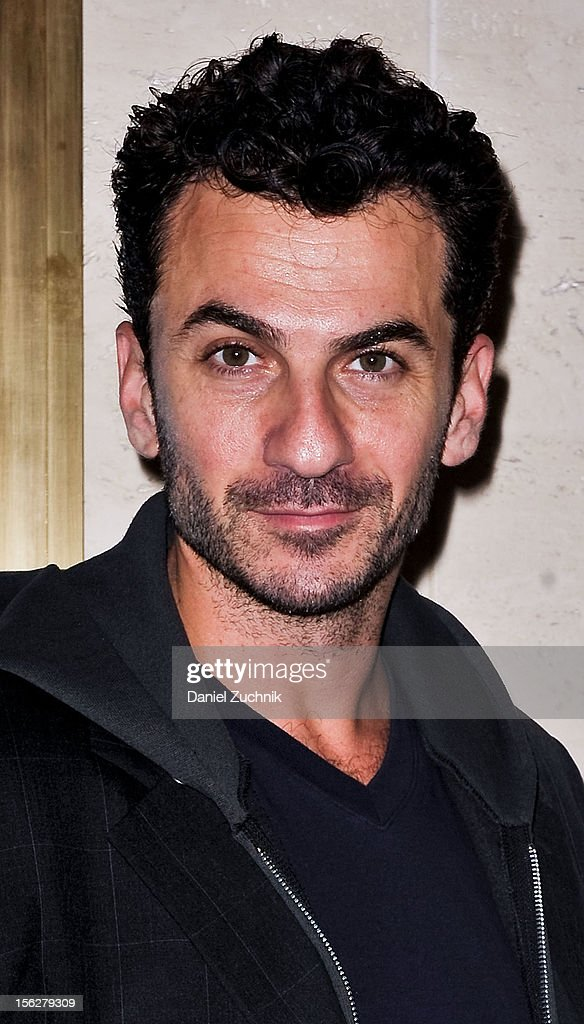 Michael Aronov attends the 'Vanya and Sonia and Masha and Spike,' press night at Mitzi E. Newhouse Theater on November 12, 2012 in New York City.