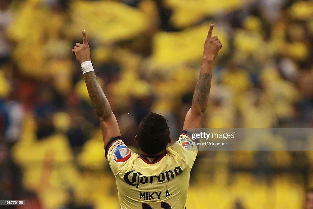 America v Leon - Playoffs Apertura 2015 Liga MX