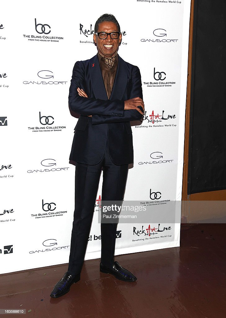 B Michael attends ROCK ART LOVE at The Angel Orensanz Foundation on March 12, 2013 in New York City.