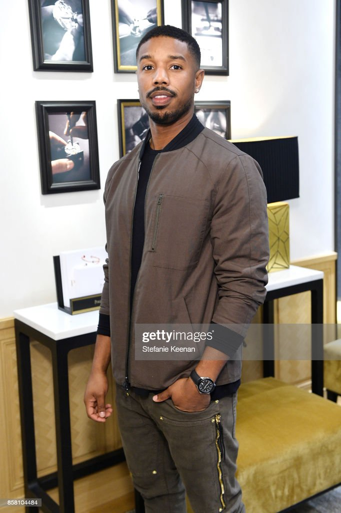 Michael B. Jordan attends Piaget Celebrates Brand Ambassador Michael B. Jordan In Support Of Lupus LA at Piaget on October 5, 2017 in Beverly Hills, California.