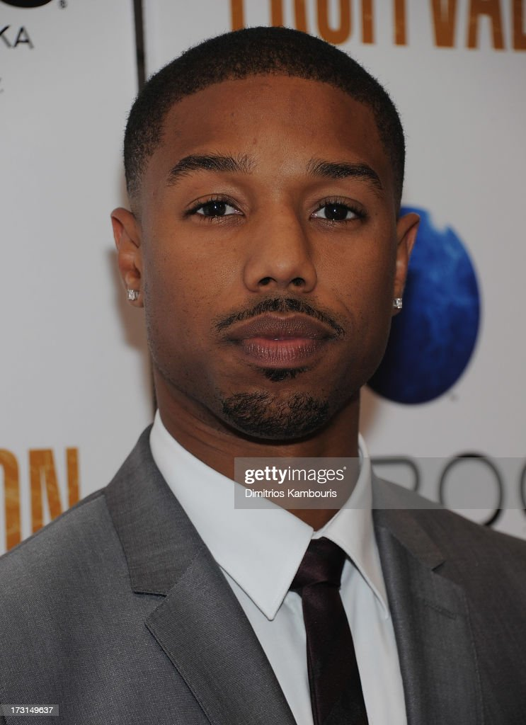 Michael B Jordan attends the 'Fruitvale Station' screening at the Museum of Modern Art on July 8 2013 in New York City