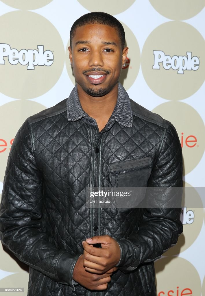 Michael B. Jordan attends the People's One To Watch Event held at Hinoki & The Bird on October 9, 2013 in Los Angeles, California.