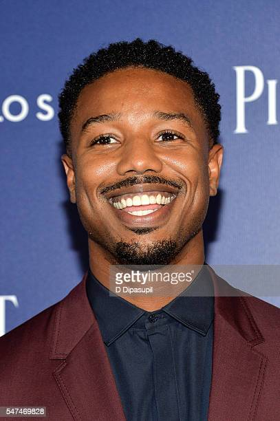 Michael B Jordan attends the Piaget new timepiece launch at the Duggal Greenhouse on July 14 2016 in New York City
