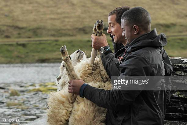 GRYLLS 'Michael B Jordan' Episode 207 Pictured Bear Grylls Michael B Jordan