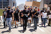 Hollywood Talent Agencies March To Support Black Lives...