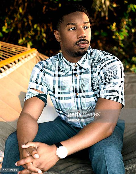 Michael B Jordan poses for a portrait session at the 2016 Maui Film Festival on June 6 2015 in Wailea Hawaii