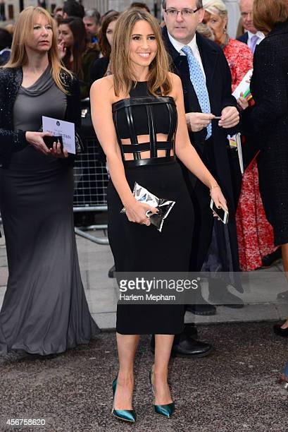 Michael Ball arrives at the Grosvenor House Hotel for the pride of britain awards on October 6 2014 in London England