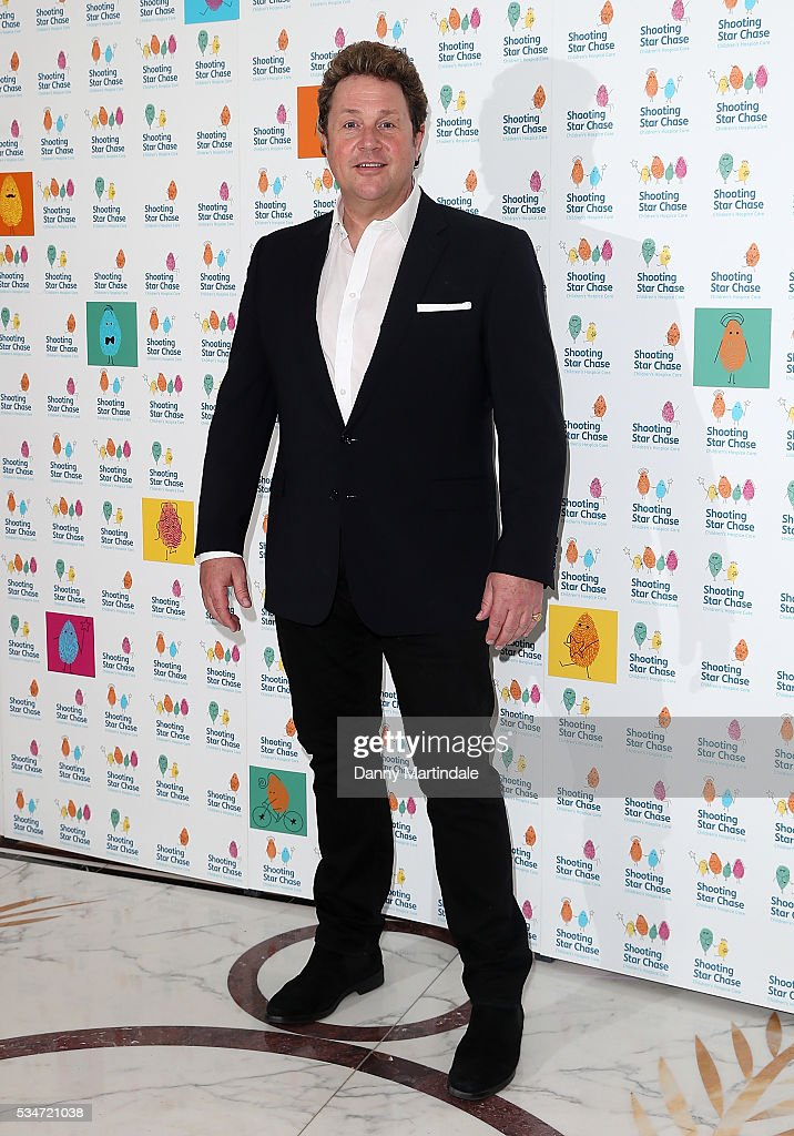 Michael Ball arrives for Star Chase Children's Hospice Event at The Dorchester on May 27, 2016 in London, England.
