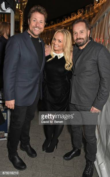 Michael Ball Emma Bunton and Alfie Boe attend the Regent Street Christmas Lights switch on event with Heart FM on November 16 2017 in London England
