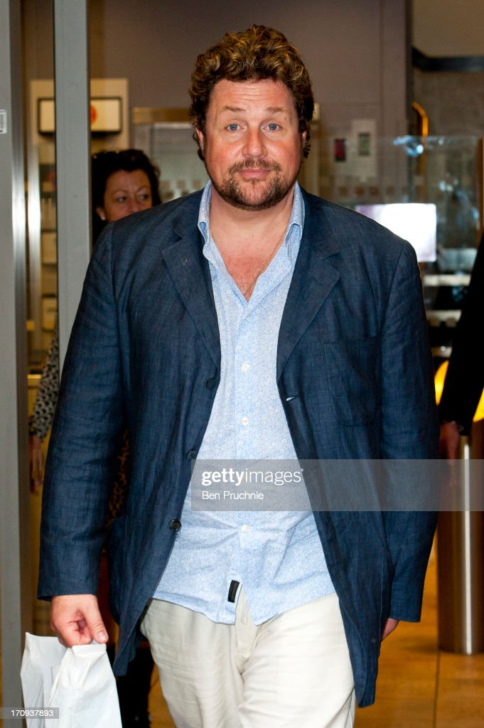 Michael Ball sighted at BBC Radio Studios on June 20, 2013 in London, England.
