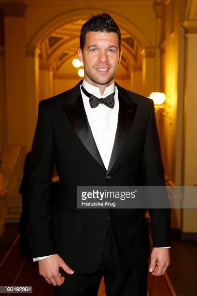 Michael Ballack attends the 'Semper Opera Ball 2013' on February 1 2013 in Dresden Germany