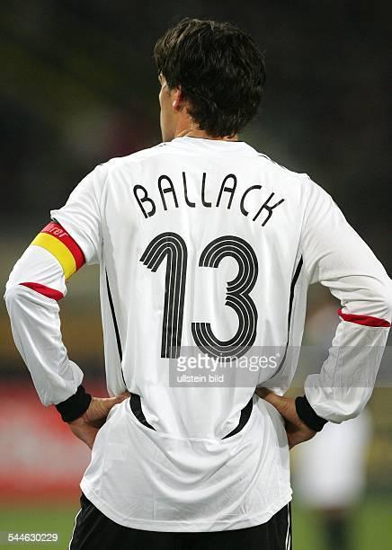 Michael Ballack Mittelfeldspieler Mannschaftskapitän Nationalmannschaft D