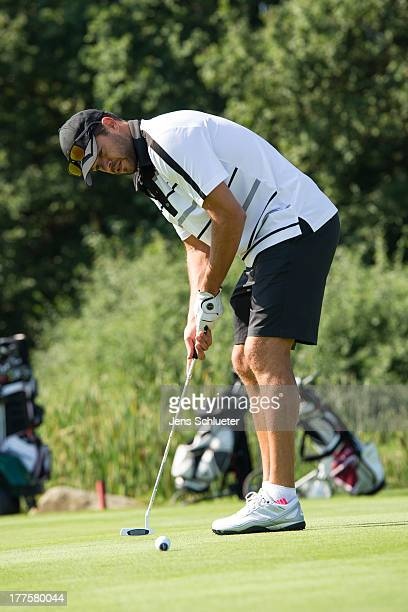 Michael Ballack takes part in the 6th GRK Golf Charity Masters at Golf Country Club Leipzig on August 24 2013 in Leipzig Germany