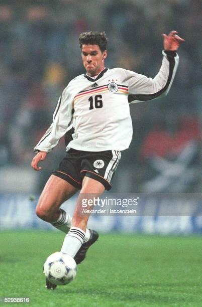 LAENDERSPIEL 1999 Bremen DEUTSCHLAND SCHOTTLAND 01 Michael BALLACK/GER
