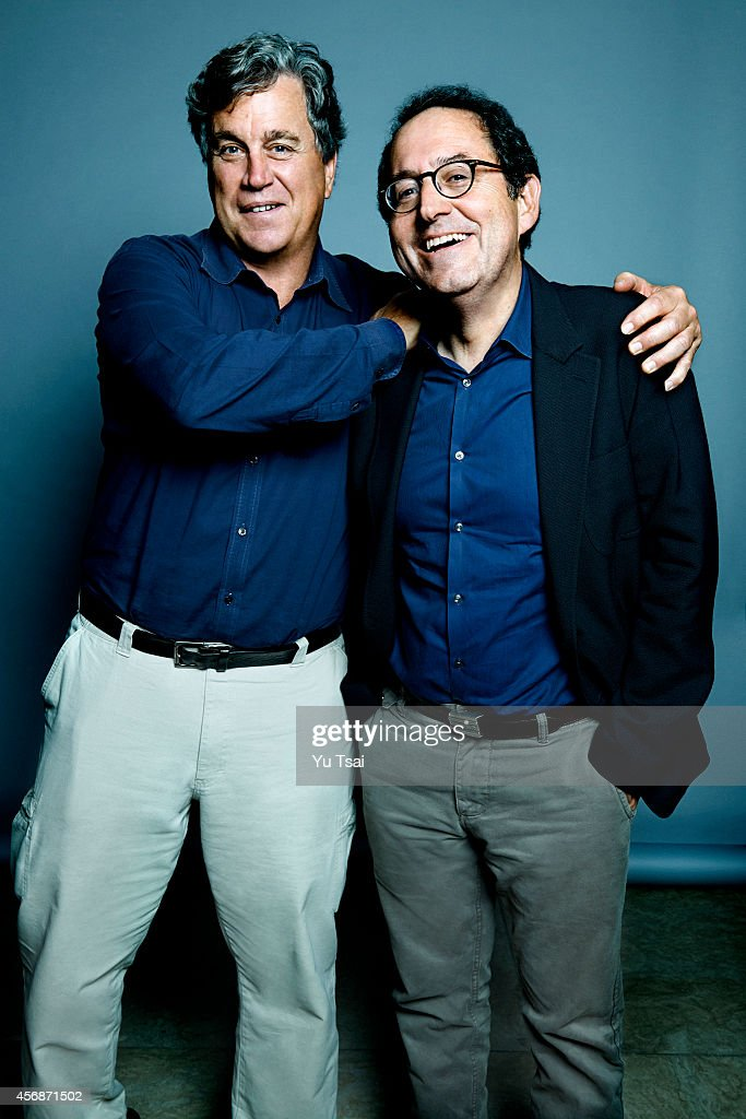 Michael Barker and Tom Bernard are photographed for Variety on September 6, 2014 in Toronto, Ontario.