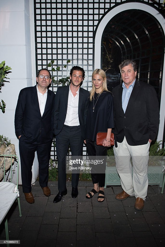 Michael Barker Gaspard Ulliel Aymeline Valade and Tom Bernard attend Sony Pictures Classics' screening after party of 'Saint Laurent' hosted by The...