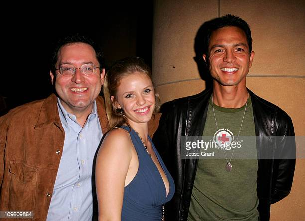 Michael Barker Sony Pictures Classics' copresident Kelli Garner and Benjamin Bratt