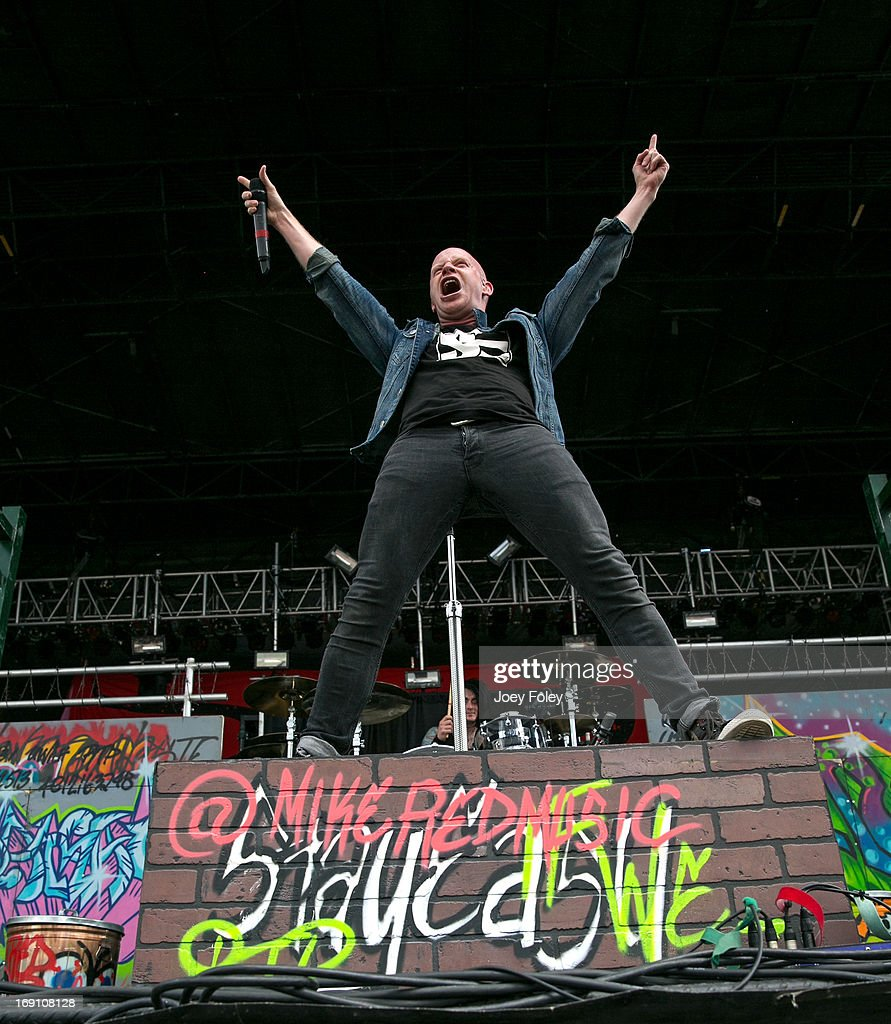 Michael Barnes of RED performs during 2013 Rock On The Range at Columbus Crew Stadium on May 19, 2013 in Columbus, Ohio.