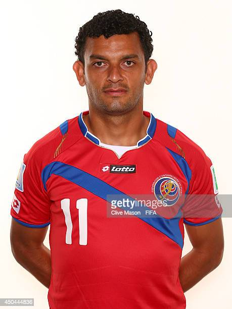 Michael Barrantes of Costa Rica poses during the official FIFA World Cup 2014 portrait session on June 10 2014 in Sao Paulo Brazil