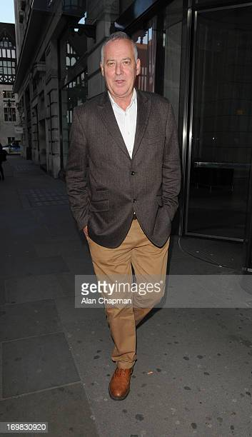 Michael Barrymore arrives at the London Palladium for An Evening with Al Pacino on June 2 2013 in London England