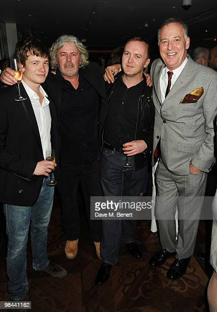 Michael Barrymore attends the afterparty following the gala screening of 'Boogie Woogie' at the Westbury Hotel on April 13 2010 in London England