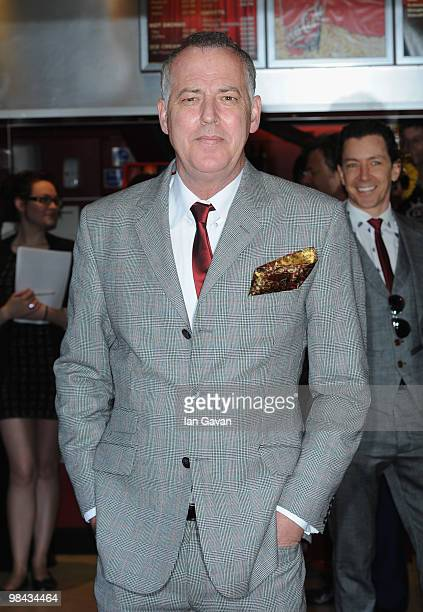 Michael Barrymore attends the 'Boogie Woogie' gala screening at the Prince Charles cinema on April 13 2010 in London England