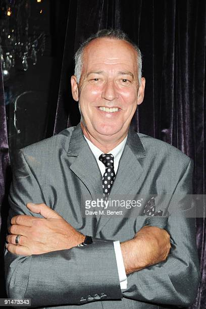 Michael Barrymore attends the press night for La Cage Aux Folles at the Playhouse Theatre on October 5 2009 in London England