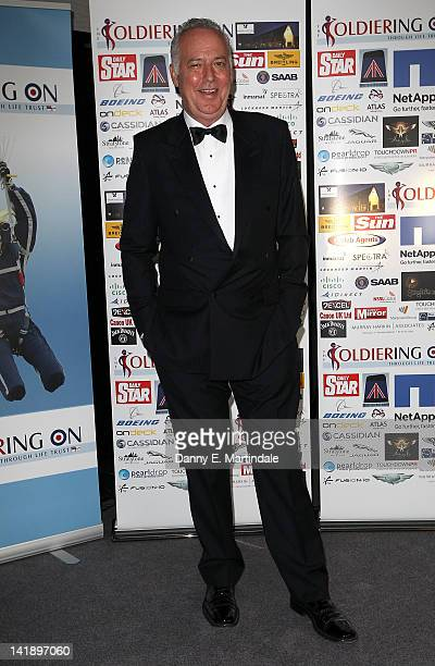 Michael Barrymore attends the Soldiering On Awards at London Syon Park Hotel on March 25 2012 in London England