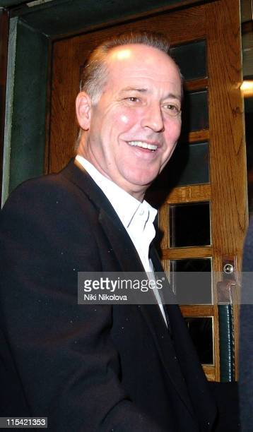 Michael Barrymore during Celebrity Sightings at The Ivy in London February 7 2006 at The Ivy in London Great Britain
