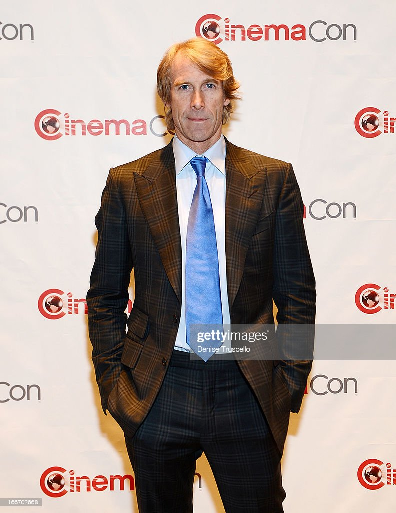 Michael Bay arrives at CinemaCon 2013 Paramount opening night party and presentation at Caesars Palace on April 15, 2013 in Las Vegas, Nevada.