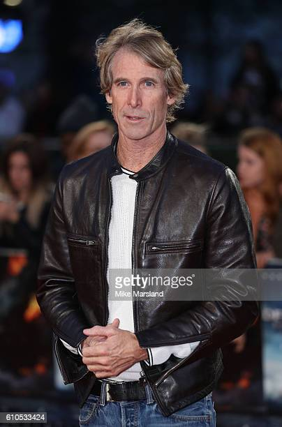 Michael Bay arrives for the at European Premiere of 'Deepwater Horizon' Cineworld Leicester Square on September 26 2016 in London England