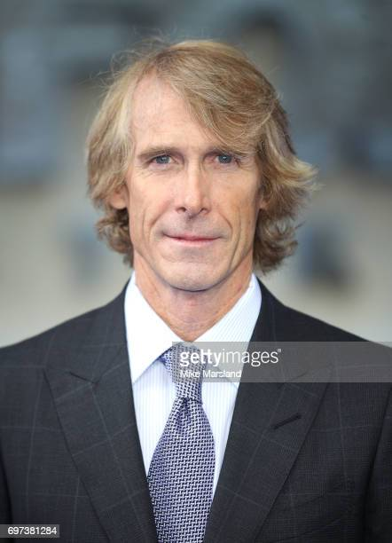 Michael Bay attends the global premiere of 'Transformers The Last Knight' at Cineworld Leicester Square on June 18 2017 in London England