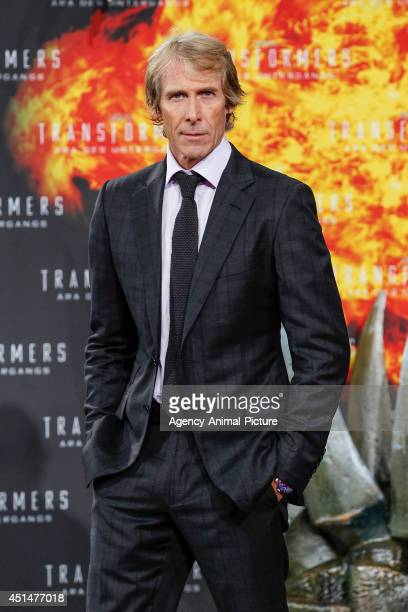 Michael Bay attends the 'Transformers Age of Extinction' Berlin Premiere on June 29 2014 in Berlin Germany