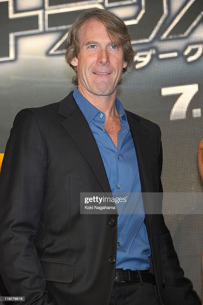Michael Bay attends the 'Transformers: Dark of the Moon' press conference at the St. Regis Hotel Osaka on July 16, 2011 in Osaka, Japan. The film will open on July 29 in Japan.