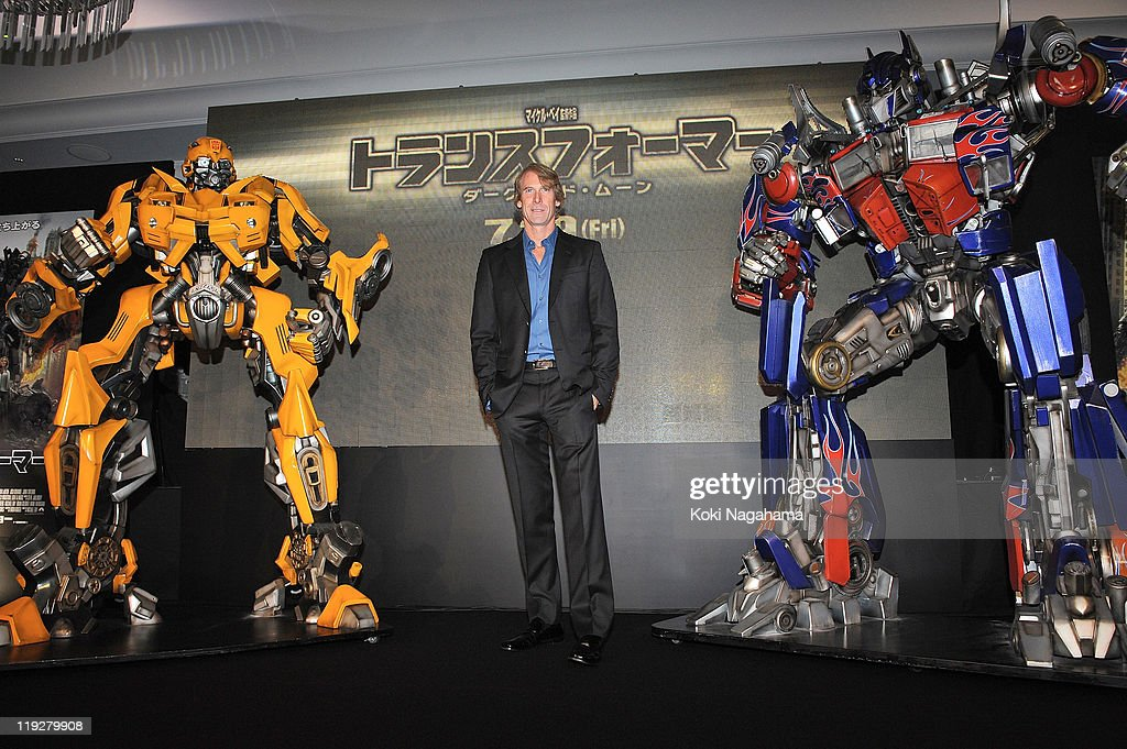 Michael Bay attends the 'Transformers: Dark of the Moon' stage greeting at Osaka Station City Cinema on July 16, 2011 in Osaka, Japan. The film will open on July 29 in Japan.
