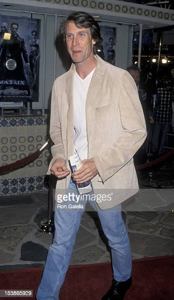 Michael Bay attends the world premiere of 'The Matrix' on March 24 1999 at Mann Village Theater in Westwood California