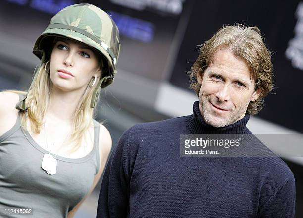 Michael Bay during 'Transformers' Madrid Photocall at Negone in Madrid Spain