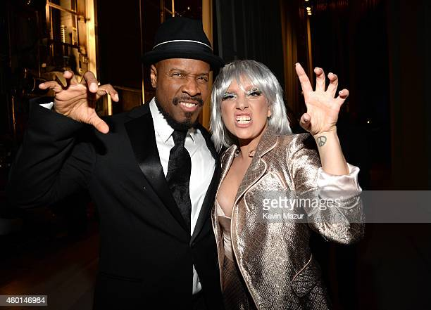 Michael Bearden and Lady Gaga attend the 37th Annual Kennedy Center Honors at The John F Kennedy Center for Performing Arts on December 7 2014 in...
