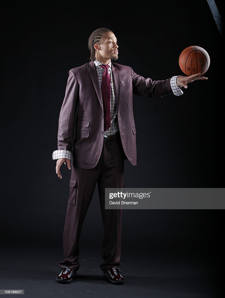 <a gi-track='captionPersonalityLinkClicked' href=/galleries/search?phrase=Michael+Beasley&family=editorial&specificpeople=4135134 ng-click='$event.stopPropagation()'>Michael Beasley</a> of the Minnesota Timberwolves poses for a portrait on October 11, 2010 at Target Center in Minneapolis, Minnesota.