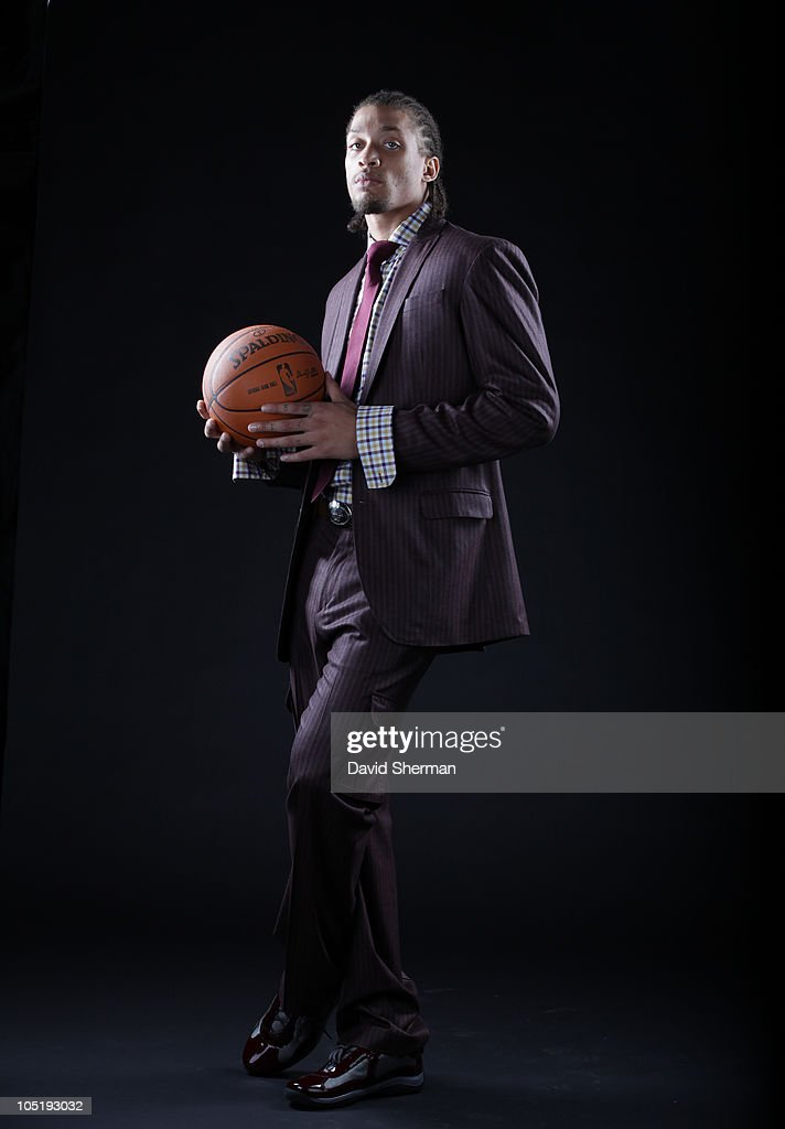 Michael Beasley of the Minnesota Timberwolves poses for a portrait on October 11, 2010 at Target Center in Minneapolis, Minnesota.