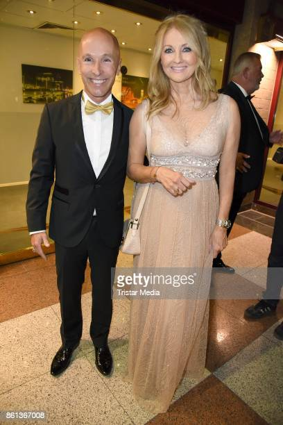 Michael Begasse and Frauke Ludowig attend the 29 KoelnBall on October 14 2017 in Cologne Germany
