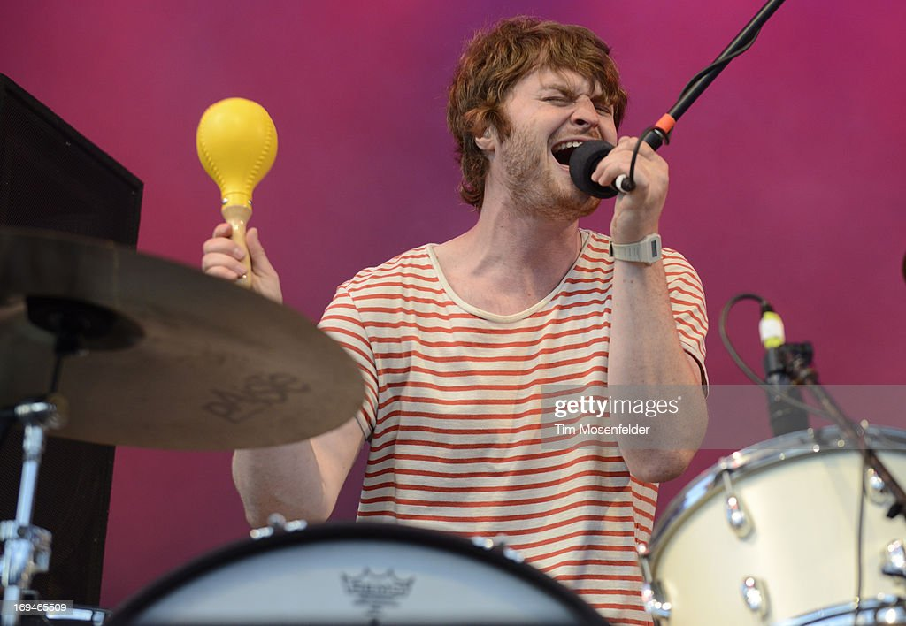 Michael Benjamin Lerner of Telekinesis performs as part of the Day 1 of the Sasquatch! Music Festival at the Gorge Amphitheatre on May 24, 2013 in George, Washington.
