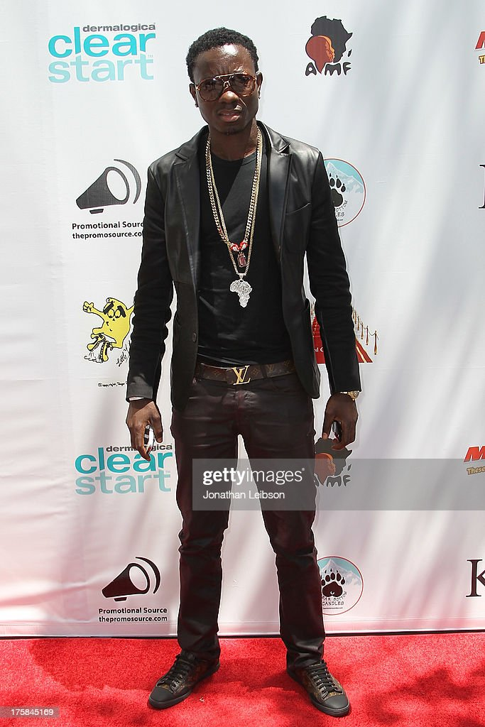 Michael Blackson attends the Red Carpet Events LA Teen Choice Style Lounge on August 8, 2013 in Beverly Hills, California.