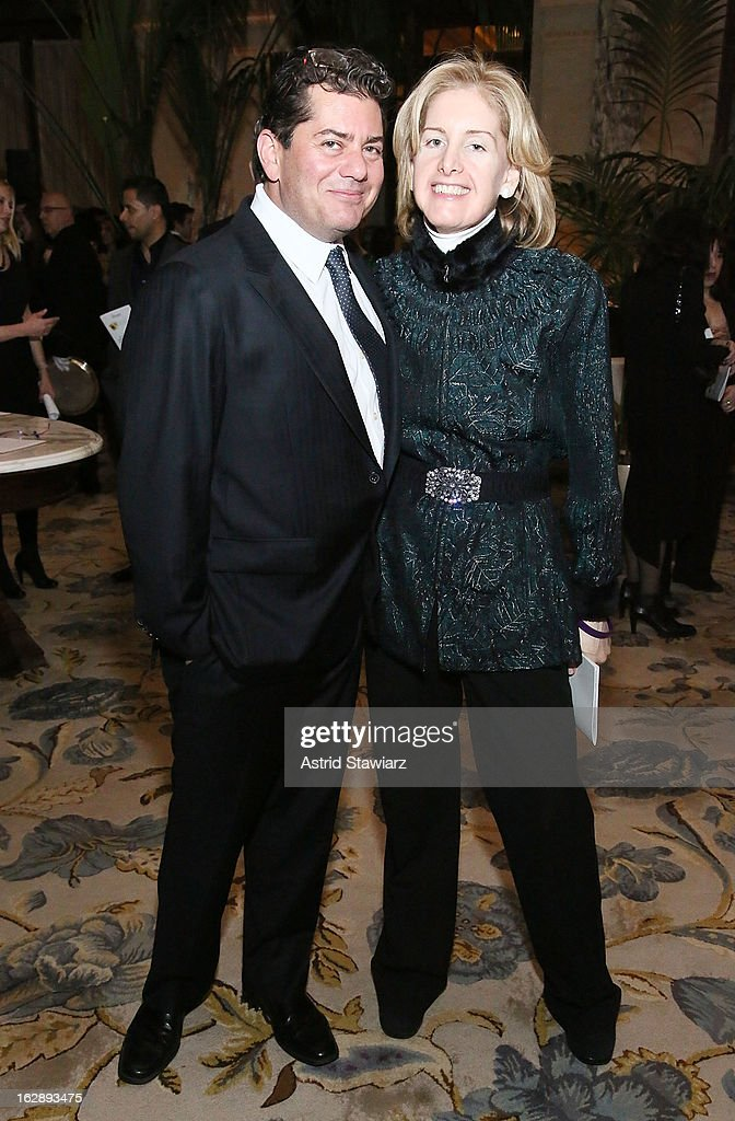 Michael Block and Laurie Block attend the 2013 Adults In Toyland Casino Night at The Plaza Hotel on February 28, 2013 in New York City.