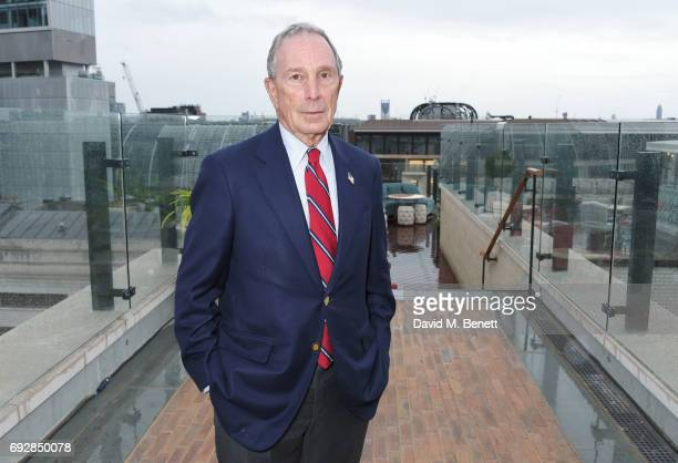 Michael Bloomberg attends the launch of new book 'Climate Of Hope' by Michael Bloomberg and Carl Pope at The Ned on June 5 2017 in London England