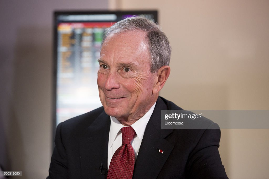 <a gi-track='captionPersonalityLinkClicked' href=/galleries/search?phrase=Michael+Bloomberg&family=editorial&specificpeople=171685 ng-click='$event.stopPropagation()'>Michael Bloomberg</a>, United Nations special envoy for cities and climate change and founder of Bloomberg LP, reacts during a news conference at the United Nations COP21 climate summit at Le Bourget in Paris, France, on Friday, Dec. 4, 2015. France's Energy and Environment Minister Segolene Royal yesterday said the fate of the United Nations global warming talks hinges on the willingness of richer countries to pay poorer ones more for climate-related projects. Photographer: Christophe Morin/Bloomberg via Getty Images