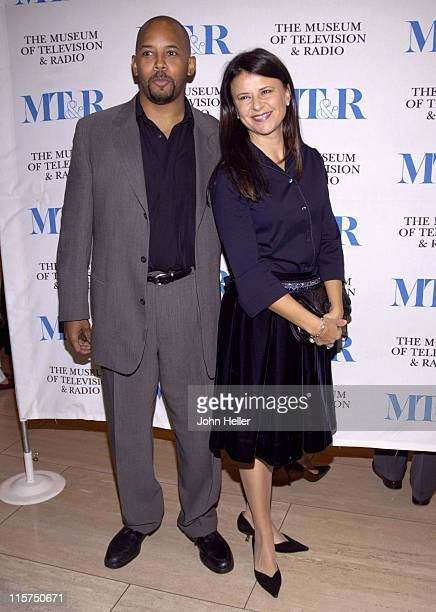 Michael Boatman and Tracey Ullman during The Museum of Television and Radio Presents 'Once Upon a Mattress' November 29 2005 at The Museum of...