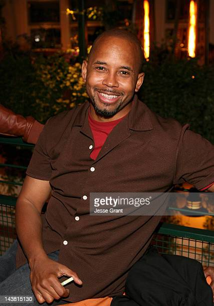 Michael Boatman attends the Anger Management Wrap Party hosted by Charlie Sheen held at Planet Dailies Mixology 101 on May 3 2012 in Los Angeles...