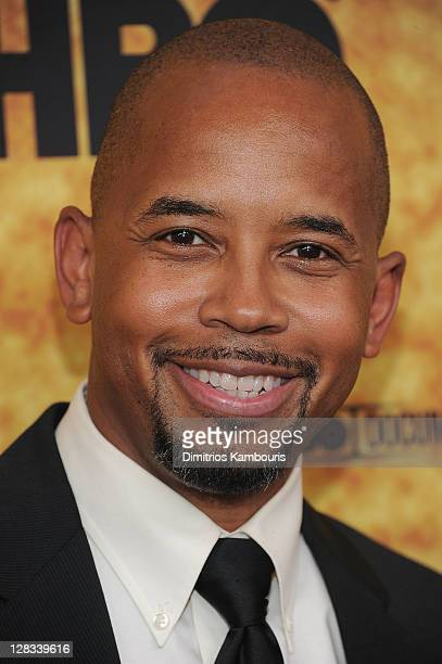 Michael Boatman attends the 'Sing Your Song' screening at The Apollo Theater on October 6 2011 in New York City
